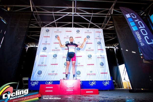 podium shot