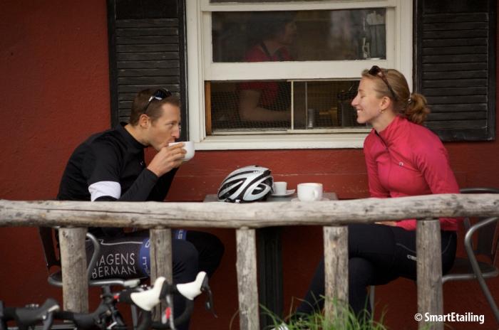 coffee shop ride